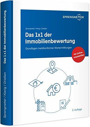 """<pre>Das 1 x 1 der Immobilienbewertung: Grundlagen marktkonformer Wertermittlungen """"/></a> <br><a href="""