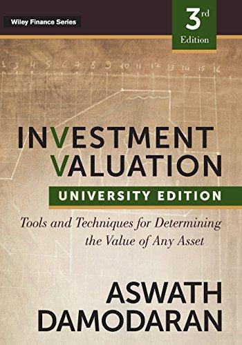 """<pre>Investitionsbewertung: Tools und Techniken zur Bestimmung des Werts eines Vermögenswerts, University Edition (Wiley Finance Series) """"/></a> <br><a href="""