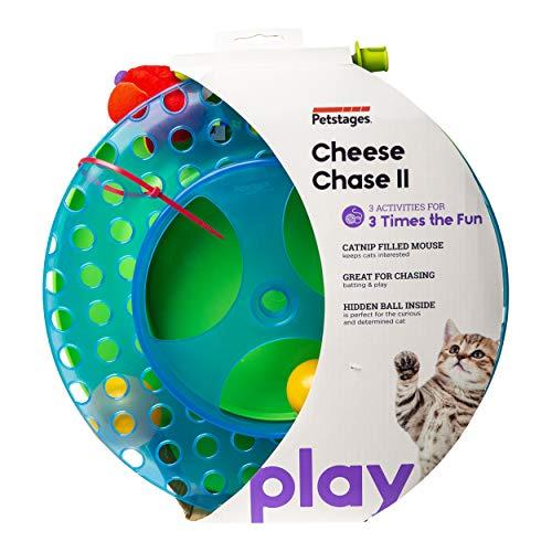 """<pre>Petstages # 736 Cheese Chase, Spielzeug für Katzen sterben 3 Personen werden getrennt um mehr Spaß zu haben """"/></a> <br><a href="""